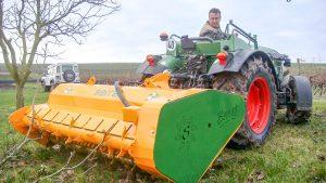 Desbrozadoras de martillos - Maquinaria Agricola Nunez